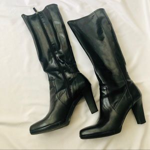 Black Franco Sarto High Boots
